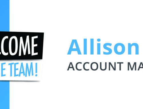 Welcome To The Team – Allison!
