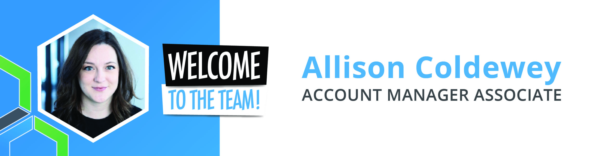 Welcome Allison