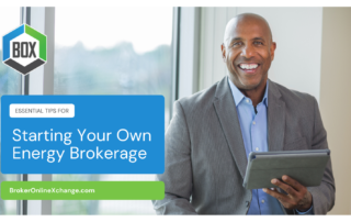 BOX Starting Your Own Energy Brokerage