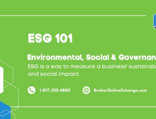 Environmental, Social & Governance (ESG) 101