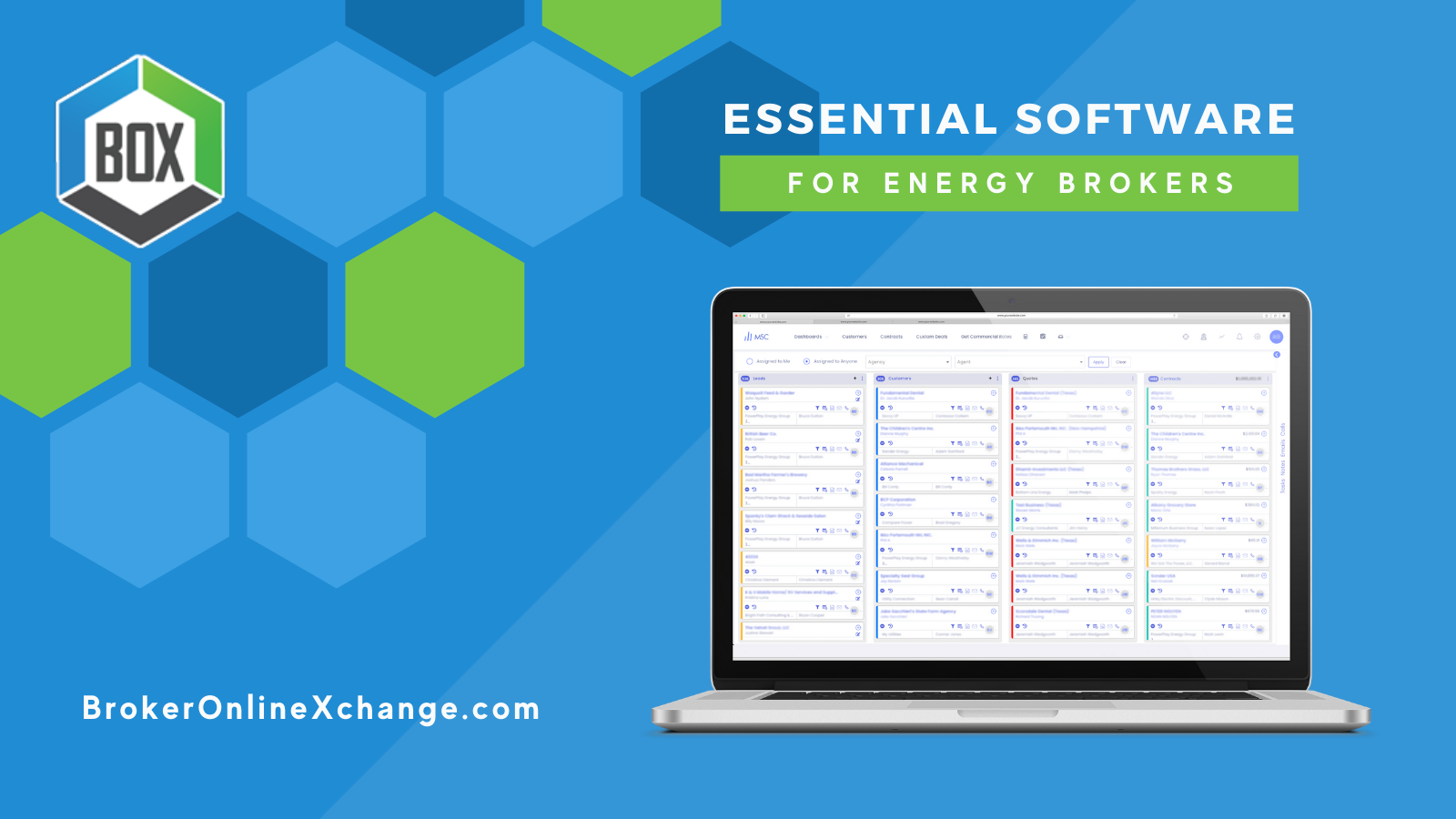 BOX Essential Software for Energy Brokers2